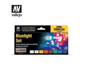 Bluelight Set Model Air Paint Set (8 Colors) (71.154)