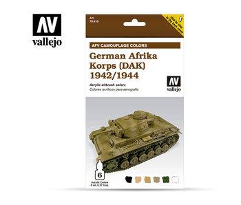 German Afrika Korps (DAK) 1942-1944 (6 Colors) (78.410)