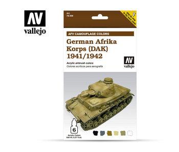 German Afrika Korps 41/42 Paint Set (6 Colors) (78.409)