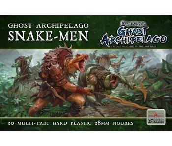 Frostgrave/ Oathmark Ghost Archipelago Snake-Men