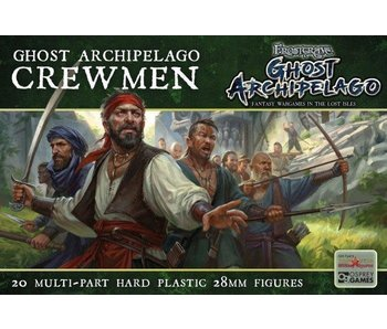 Frostgrave/ Oathmark Ghost Archipelago Crewmen