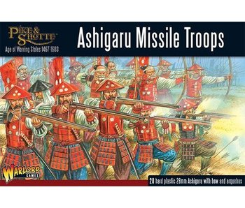 Pike & Shotte Ashigaru Missile Troops