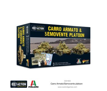 Bolt Action Carro Armato & Semovente Platoon