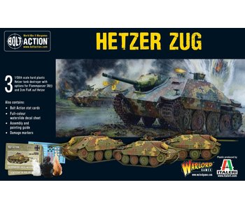 Bolt Action Hetzer Zug