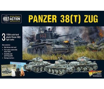 Bolt Action Panzer 38(T) Zug
