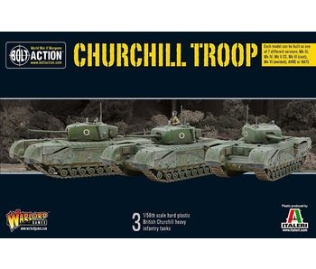 Bolt Action Churchill Troop