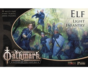 Frostgrave/ Oathmark Elf Light Infantry