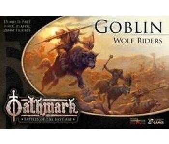 Frostgrave/ Oathmark Goblin Wolf Riders