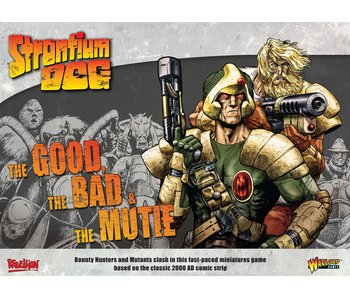2000 AD Strontium Dog - The Good The Bad And The Mutie