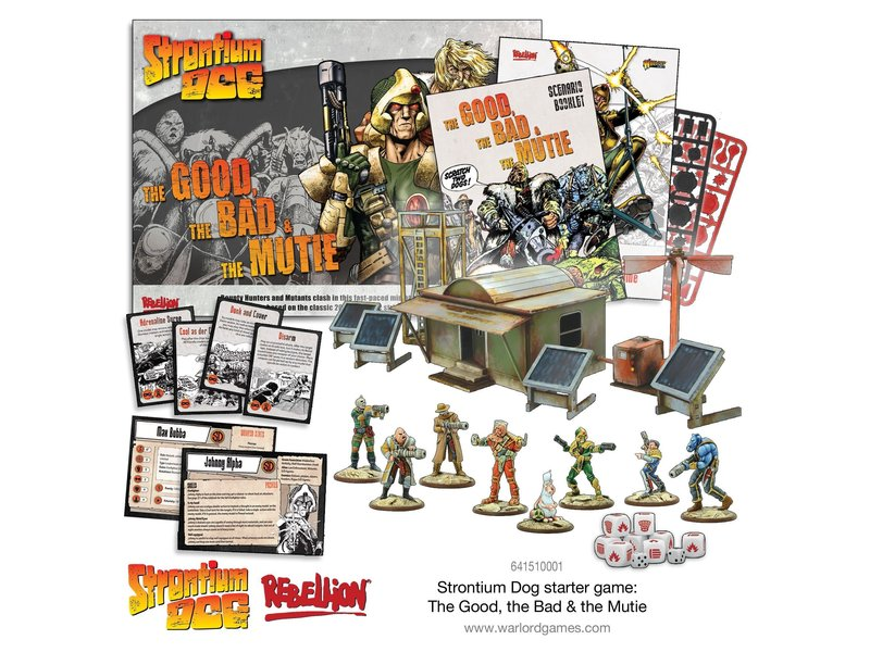 Warlord Games 2000 AD Strontium Dog - The Good The Bad And The Mutie