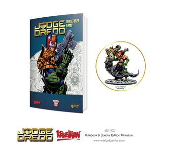 2000 AD Judge Dredd Rulebook