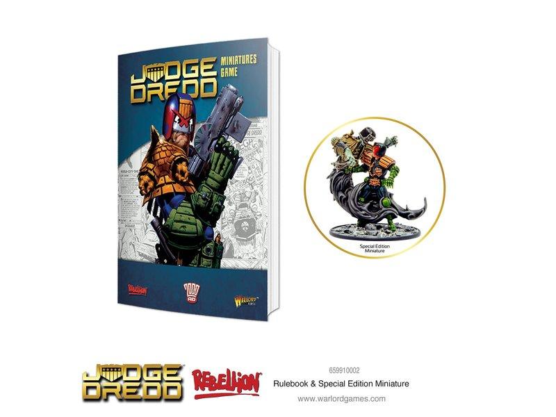 Warlord Games 2000 AD Judge Dredd Rulebook