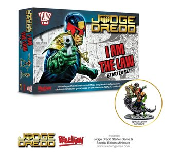 2000 AD Judge Dredd Starter Game I Am The Law!