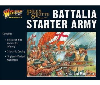 Pike & Shotte Battalia Starter Army Box (80 Inf, 24 Cav, 10 Firelocks)