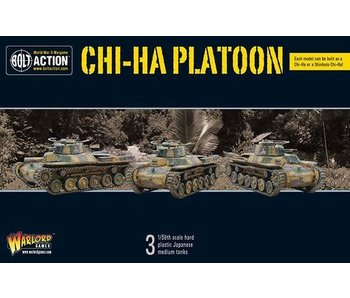 Bolt Action Chi-Ha Platoon