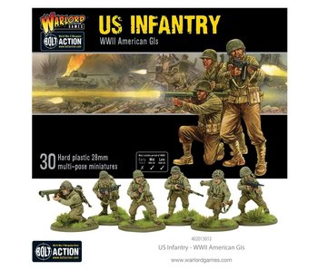 Bolt Action Us Infantry  - WW2 American GIs