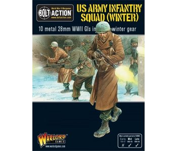 Bolt Action Us Army Infantry Squad In Winter Clothing