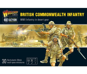 Bolt Action British Commonwealth Infantry
