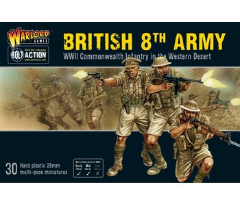 Bolt Action 8Th Army Infantry