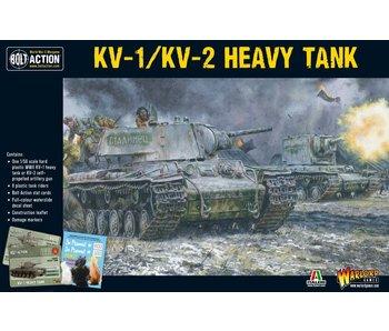 Bolt Action Soviet KV-1/KV-2 Heavy Tank