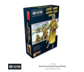 Bolt Action Soviet Army Support Group (Winter)