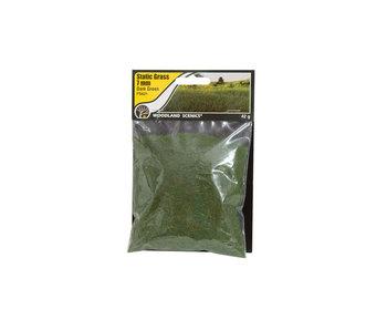 Woodland Scenics Static Grass Dark Green 7mm (FS621)