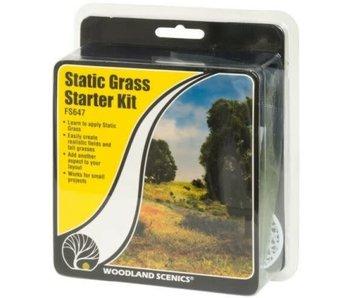 Woodland Scenics Static Grass Starter Kit (FS647)