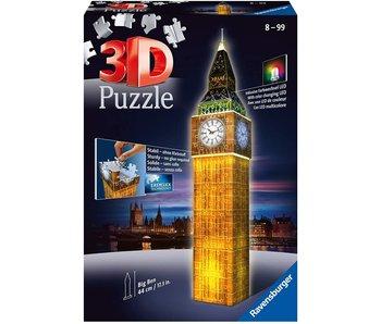 Big Ben la nuit 3D Puzzle (216pcs)