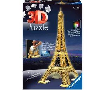 Tour Eiffel la nuit 3D Puzzle (216pcs)