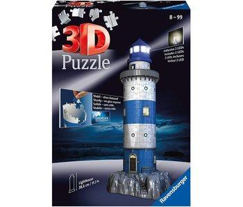 Phare la nuit 3D Puzzle (216pcs)