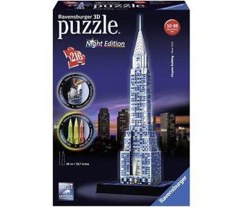 Chrysler Building la nuit 3D Puzzle (216pcs)