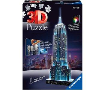 Empire State Building la nuit 3D Puzzle (216pcs)