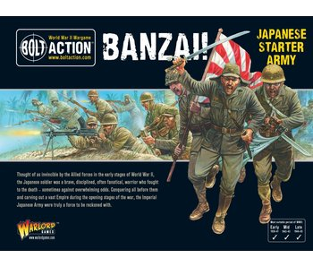 Bolt Action Banzai! Japanese Starter Army