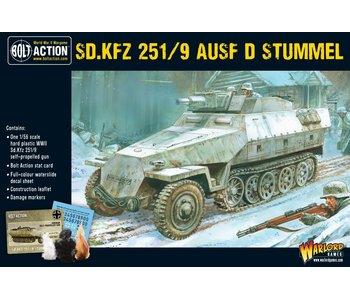 Bolt Action Sd.Kfz 251/9 Ausf D (Stummel) Half-Track