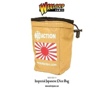 Imperial Japanese Dice Bag & Order Dice (White)