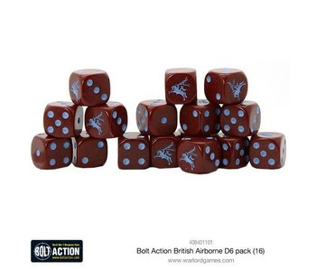 Bolt Action British Airborne D6 Dice (16)