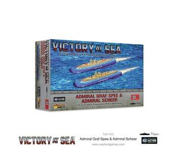 Victory at Seas Admiral Graf Spee & Admiral Scheer