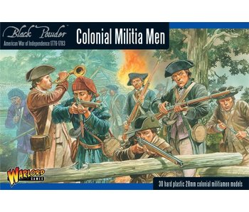 Historical Colonial Militia Men