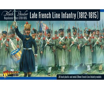 Historical Late French Line Infantry (1812-1815) Revised