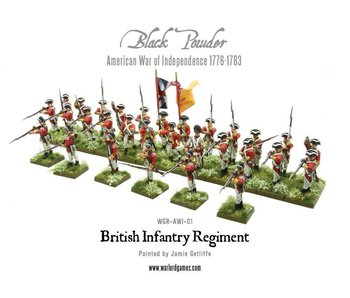 Historical British Infantry Regiment