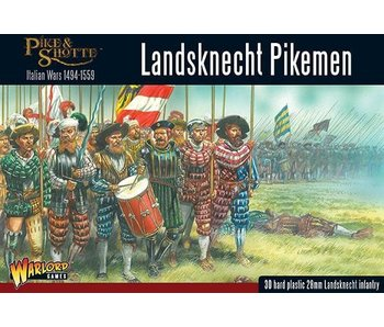 Historical Landsknechts Pikemen