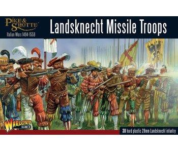 Historical Landsknecht Missile Troops
