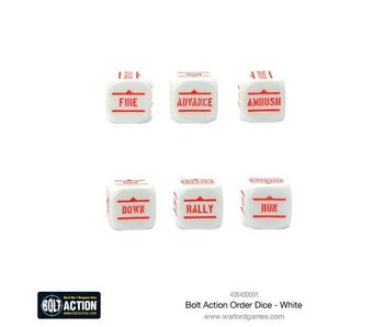 Bolt Action Orders D6 Dice (12)