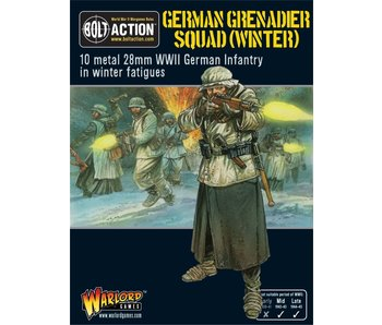 Bolt Action German Grenadiers In Winter Clothing