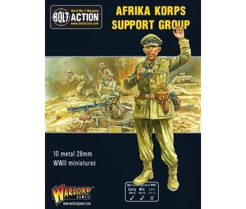 Bolt Action Afrika Korps Support Group (Hq, Mortar & Mmg)
