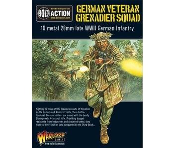Bolt Action Veteran Grenadiers Squad