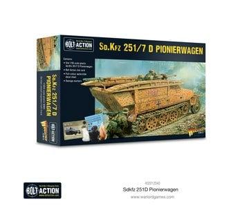 Bolt Action Sd.Kfz 251 D Pionierwagen