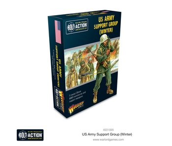 Bolt Action Us Army Winter Support Group