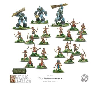 Warlord of Erehwon Tribal Nations Warband Starter Set
