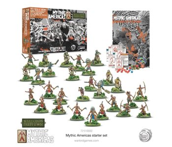 Warlord of Erehwon Mythic America Aztec & Tribal Nations Starter Set